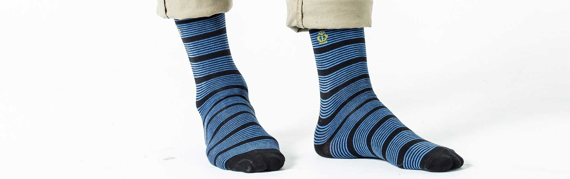 Jeff Banks Men's Striped Socks