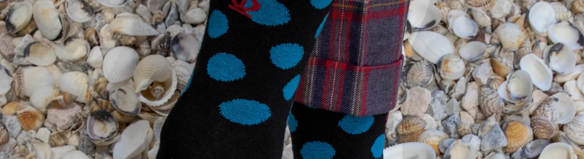 Jeff Banks socks and shells