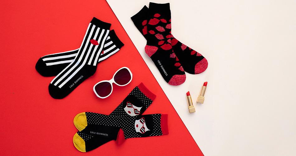 Lulu Guinness Socks