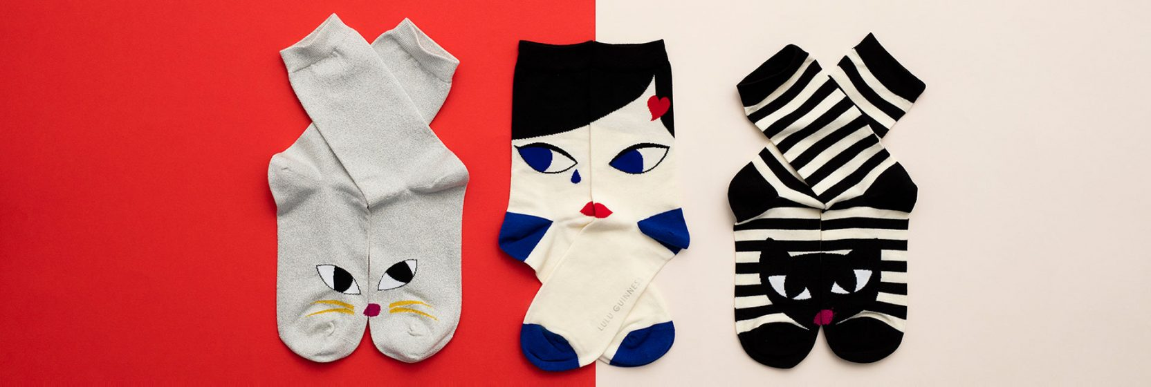 Lulu Guinness Ladies's Socks