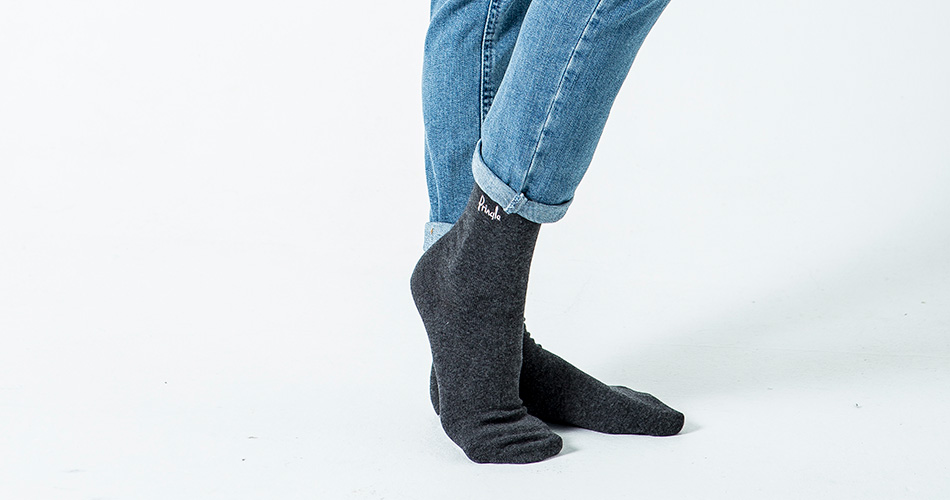 Pringle Ladies' Grey Socks