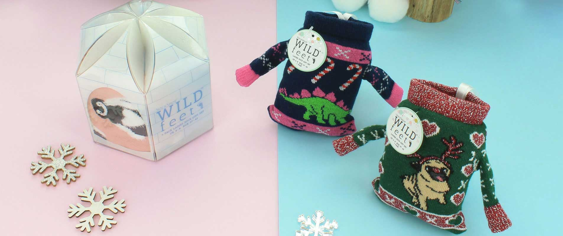 WildFeet Christmas Jumper Socks