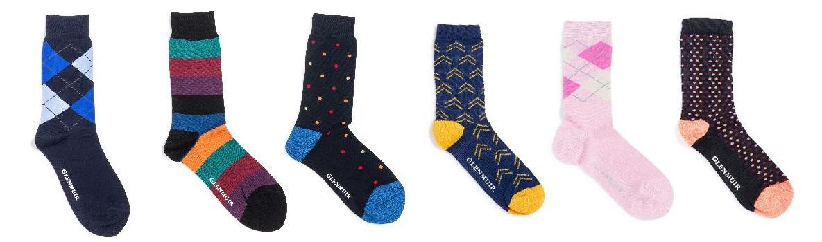 Glenmuir AW18 Collection - Bamboo Socks