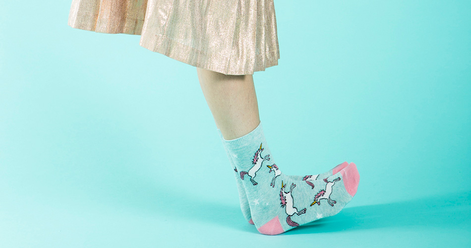 WildFeet Unicorn Socks